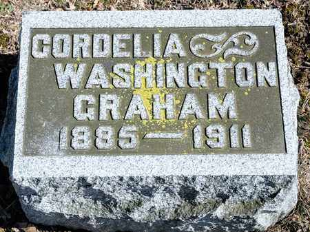 GRAHAM, CORDELIA - Richland County, Ohio | CORDELIA GRAHAM - Ohio Gravestone Photos