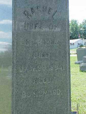GRAHAM, RACHEL - Richland County, Ohio | RACHEL GRAHAM - Ohio Gravestone Photos