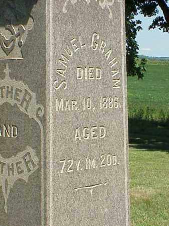 GRAHAM, SAMUEL - Richland County, Ohio | SAMUEL GRAHAM - Ohio Gravestone Photos