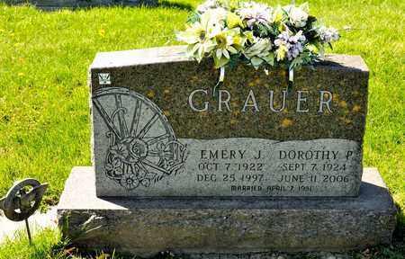 GRAUER, EMERY J - Richland County, Ohio | EMERY J GRAUER - Ohio Gravestone Photos