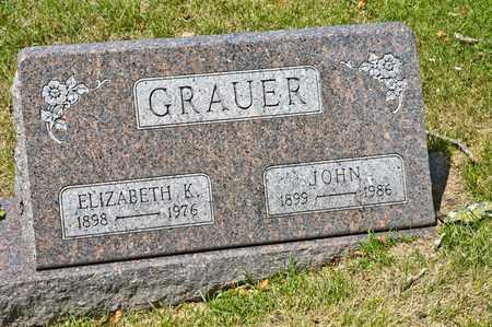 GRAUER, JOHN - Richland County, Ohio | JOHN GRAUER - Ohio Gravestone Photos