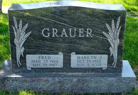 GRAUER, MARILYN J - Richland County, Ohio | MARILYN J GRAUER - Ohio Gravestone Photos
