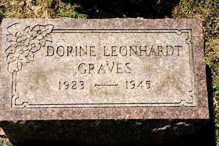 GRAVES, DORINE - Richland County, Ohio   DORINE GRAVES - Ohio Gravestone Photos