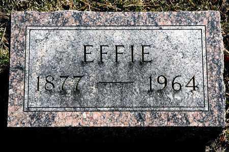 GRAY, EFFIE - Richland County, Ohio | EFFIE GRAY - Ohio Gravestone Photos
