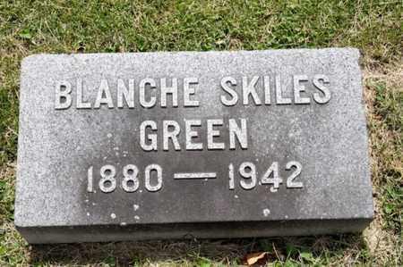 SKILES GREEN, BLANCHE - Richland County, Ohio | BLANCHE SKILES GREEN - Ohio Gravestone Photos