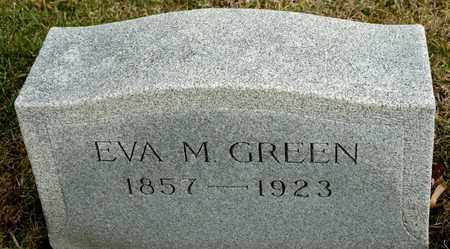 GREEN, EVA M - Richland County, Ohio | EVA M GREEN - Ohio Gravestone Photos
