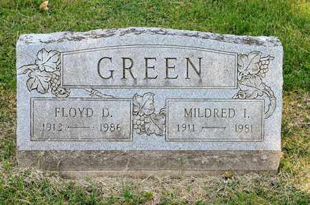 GREEN, FLOYD D - Richland County, Ohio | FLOYD D GREEN - Ohio Gravestone Photos