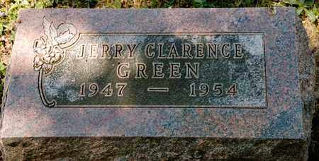 GREEN, JERRY CLARENCE - Richland County, Ohio   JERRY CLARENCE GREEN - Ohio Gravestone Photos