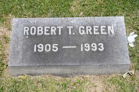 GREEN, ROBERT T - Richland County, Ohio | ROBERT T GREEN - Ohio Gravestone Photos