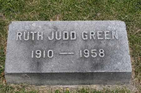 GREEN, RUTH JUDD - Richland County, Ohio   RUTH JUDD GREEN - Ohio Gravestone Photos