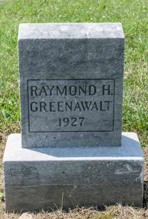 GREENAWALT, RAYMOND H - Richland County, Ohio | RAYMOND H GREENAWALT - Ohio Gravestone Photos