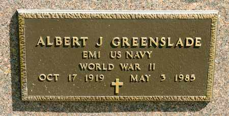GREENSLADE, ALBERT J - Richland County, Ohio   ALBERT J GREENSLADE - Ohio Gravestone Photos