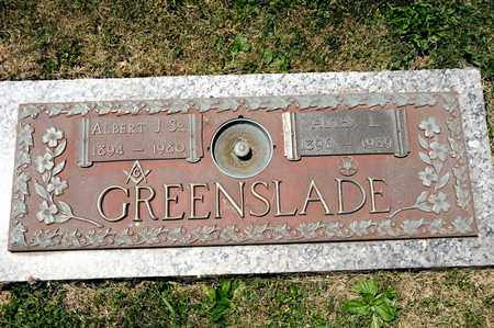GREENSLADE SR, ALBERT J - Richland County, Ohio | ALBERT J GREENSLADE SR - Ohio Gravestone Photos