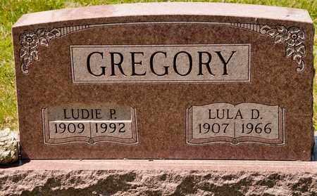 GREGORY, LULA D - Richland County, Ohio | LULA D GREGORY - Ohio Gravestone Photos