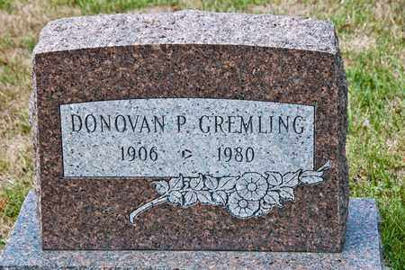 GREMLING, DONOVAN P - Richland County, Ohio | DONOVAN P GREMLING - Ohio Gravestone Photos