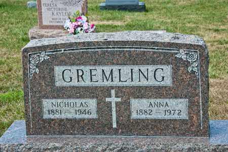 GREMLING, ANNA - Richland County, Ohio   ANNA GREMLING - Ohio Gravestone Photos