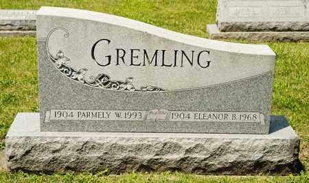 GREMLING, ELEANOR B - Richland County, Ohio | ELEANOR B GREMLING - Ohio Gravestone Photos