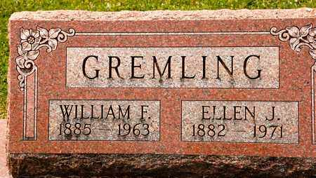 GREMLING, WILLIAM F - Richland County, Ohio | WILLIAM F GREMLING - Ohio Gravestone Photos