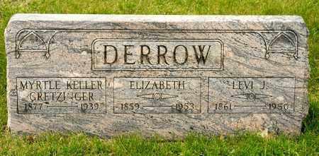 EMBERGER DERROW, ELIZABETH - Richland County, Ohio | ELIZABETH EMBERGER DERROW - Ohio Gravestone Photos