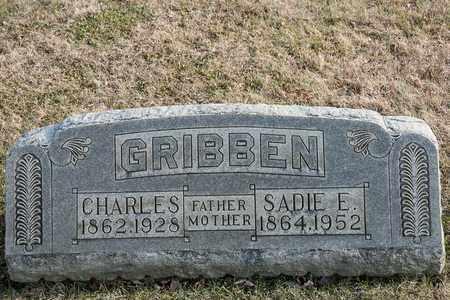 GRIBBEN, SADIE E - Richland County, Ohio | SADIE E GRIBBEN - Ohio Gravestone Photos