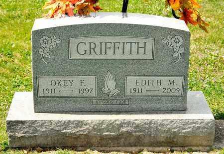 GRIFFITH, EDITH M - Richland County, Ohio | EDITH M GRIFFITH - Ohio Gravestone Photos