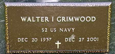 GRIMWOOD, WALTER I - Richland County, Ohio | WALTER I GRIMWOOD - Ohio Gravestone Photos