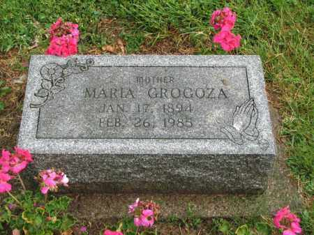 GROGOZA, MARIA - Richland County, Ohio | MARIA GROGOZA - Ohio Gravestone Photos