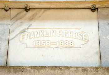 GROSE, FRANKLIN P - Richland County, Ohio   FRANKLIN P GROSE - Ohio Gravestone Photos