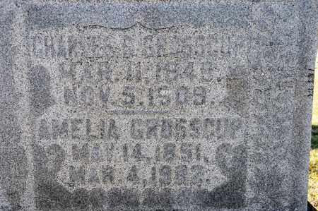 GROSSCUP, AMELIA - Richland County, Ohio | AMELIA GROSSCUP - Ohio Gravestone Photos