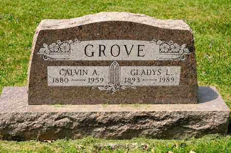 GROVE, CALVIN A - Richland County, Ohio | CALVIN A GROVE - Ohio Gravestone Photos