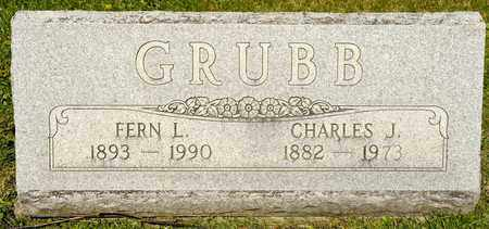 GRUBB, CHARLES J - Richland County, Ohio | CHARLES J GRUBB - Ohio Gravestone Photos