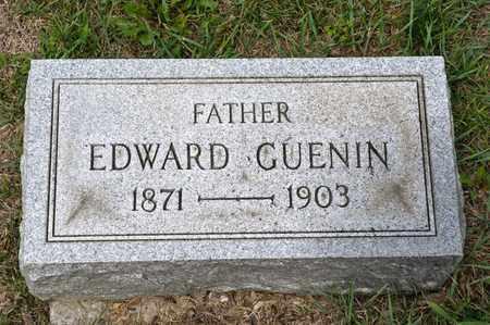 GUENIN, EDWARD - Richland County, Ohio   EDWARD GUENIN - Ohio Gravestone Photos