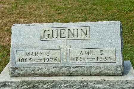 GUENIN, MARY J - Richland County, Ohio | MARY J GUENIN - Ohio Gravestone Photos