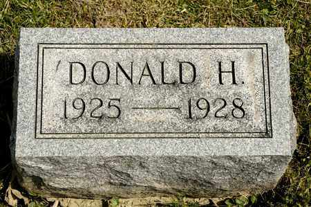 GUENTHER, DONALD H - Richland County, Ohio | DONALD H GUENTHER - Ohio Gravestone Photos