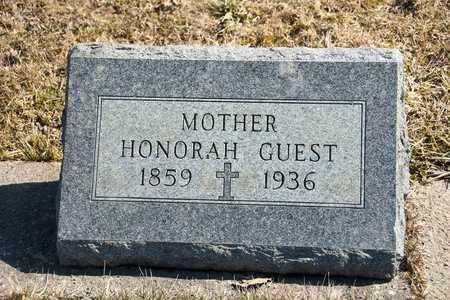 GUEST, HONORAH - Richland County, Ohio | HONORAH GUEST - Ohio Gravestone Photos