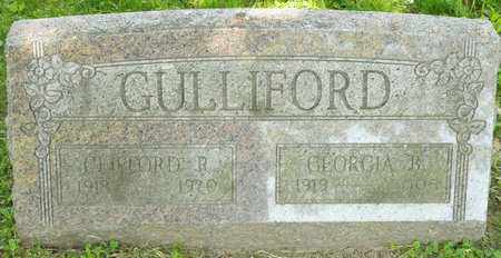 GULLIFORD, CLIFFORD R - Richland County, Ohio | CLIFFORD R GULLIFORD - Ohio Gravestone Photos