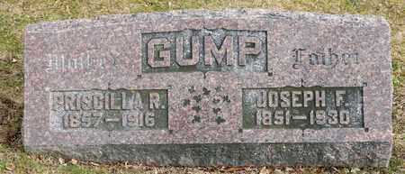 GUMP, JOSEPH F - Richland County, Ohio | JOSEPH F GUMP - Ohio Gravestone Photos