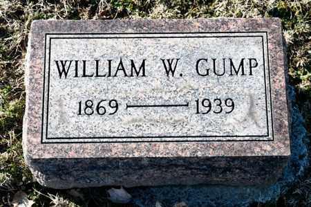 GUMP, WILLIAM W - Richland County, Ohio   WILLIAM W GUMP - Ohio Gravestone Photos