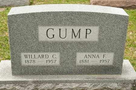 GUMP, WILLARD C - Richland County, Ohio   WILLARD C GUMP - Ohio Gravestone Photos