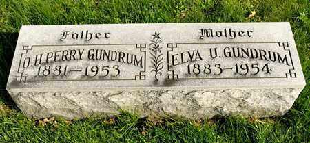 GUNDRUM, O H PERRY - Richland County, Ohio | O H PERRY GUNDRUM - Ohio Gravestone Photos