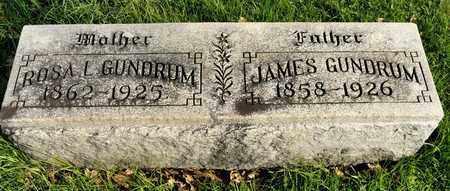 GUNDRUM, ROSA L - Richland County, Ohio | ROSA L GUNDRUM - Ohio Gravestone Photos