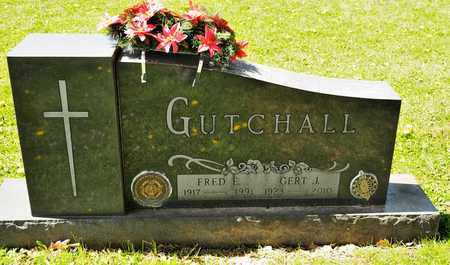 GUTCHALL, FRED E - Richland County, Ohio | FRED E GUTCHALL - Ohio Gravestone Photos