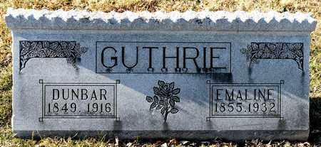 GUTHRIE, EMALINE - Richland County, Ohio | EMALINE GUTHRIE - Ohio Gravestone Photos