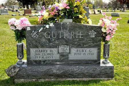 GUTHRIE, HARRY H - Richland County, Ohio | HARRY H GUTHRIE - Ohio Gravestone Photos