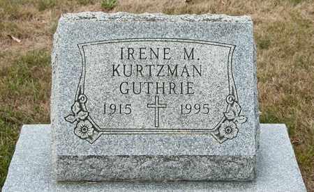 GUTHRIE, IRENE M - Richland County, Ohio   IRENE M GUTHRIE - Ohio Gravestone Photos