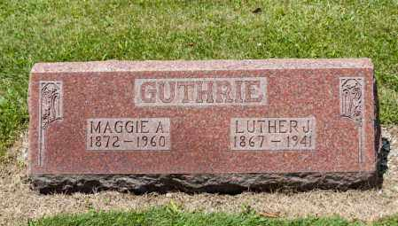 GUTHRIE, LUTHER J - Richland County, Ohio | LUTHER J GUTHRIE - Ohio Gravestone Photos