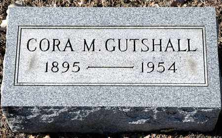 GUTSHALL, CORA M - Richland County, Ohio | CORA M GUTSHALL - Ohio Gravestone Photos
