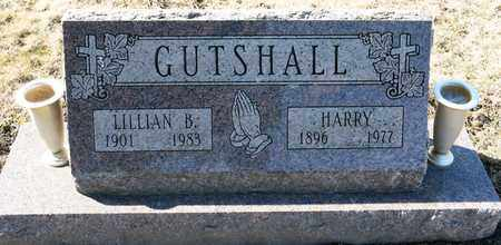 GUTSHALL, HARRY - Richland County, Ohio | HARRY GUTSHALL - Ohio Gravestone Photos
