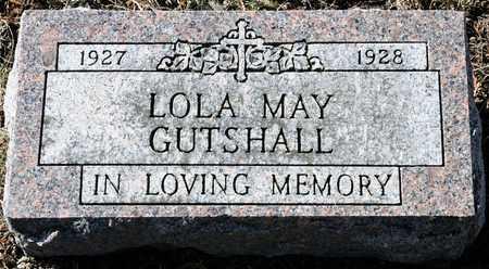 GUTSHALL, LOLA MAY - Richland County, Ohio | LOLA MAY GUTSHALL - Ohio Gravestone Photos