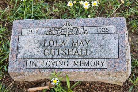 GUTSHALL, LOLA MAY - Richland County, Ohio   LOLA MAY GUTSHALL - Ohio Gravestone Photos